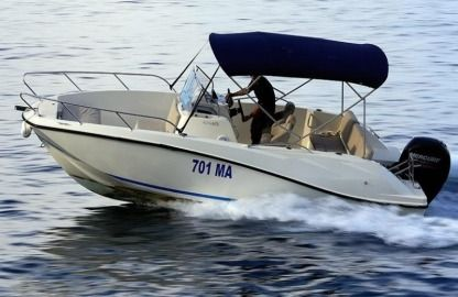 Charter Motorboat Quicksilver 675 Open Makarska