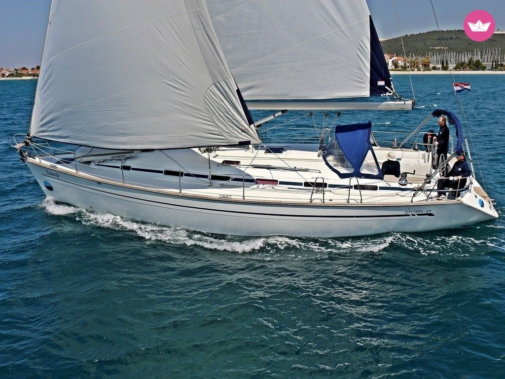 Sail in Split with the spacious Bavaria 49