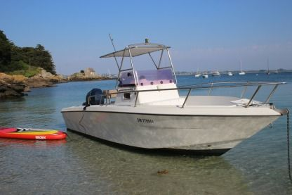 Rental Motorboat Transworld Marin Fisherman 23 St-Malo