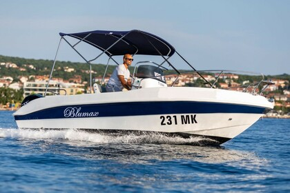 Hire Motorboat BLUMAX 550 OPEN Malinska