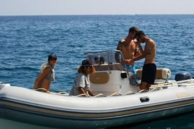 Czarter Ponton RIB Bwa Nautica Five Fifty Bordighera