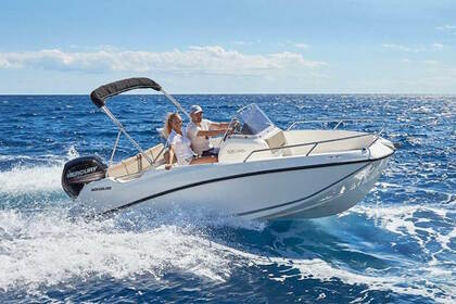 Rental Motorboat QUICKSILVER 505 activ open Marseille