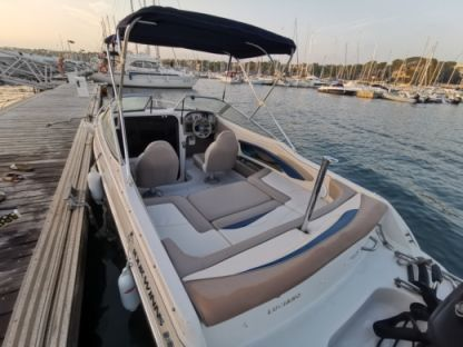 Charter Motorboat Four Winns 195 Sundowner Saint-Tropez