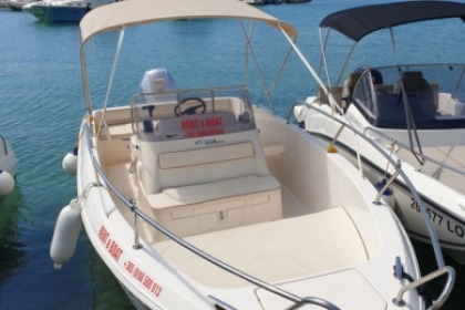 Charter Motorboat Fisher 22 open Rab