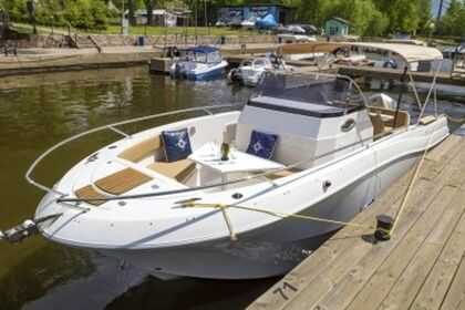 Rental Motorboat Atlantic Marine 750 Brela