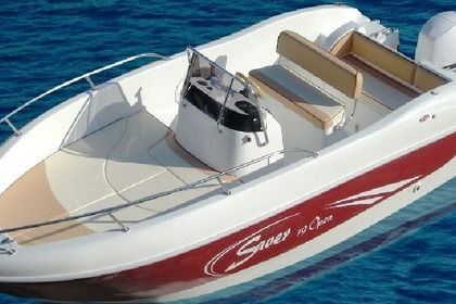 Hire Motorboat SAVER Open 19 Rab