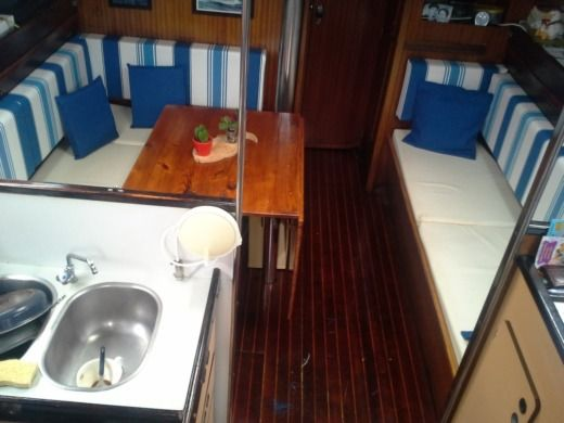 Sailboat Jeanneau Sun Fizz 12,30M for hire