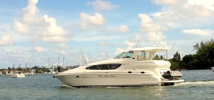 Miete Motorboot Sea Ray 480 Sundancer Miami