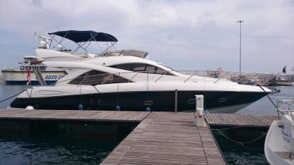 Charter Motorboat Sunseeker Manhattan 50 Msida