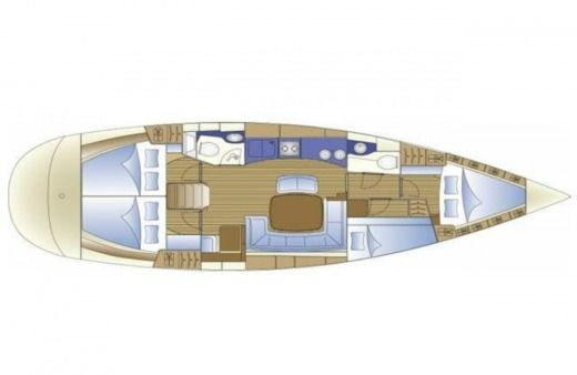 Rental Sailboat Bavaria 44 Cruiser Pinot Split