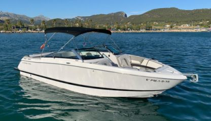 Charter Motorboat Four Winns 260 Horizon Andratx