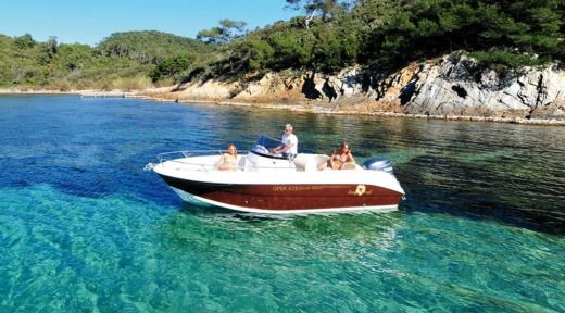 Motorboat YAMAHA PACIFIC CRAFT 630 for hire