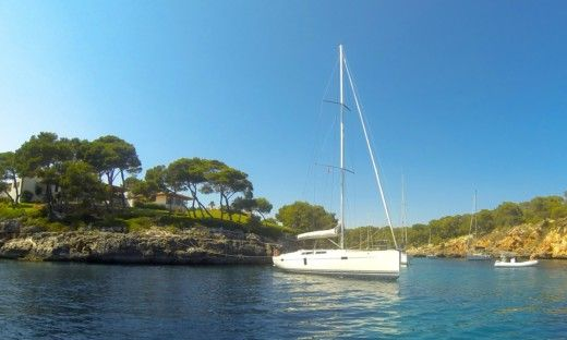 Sailboat Hanse 445 for hire