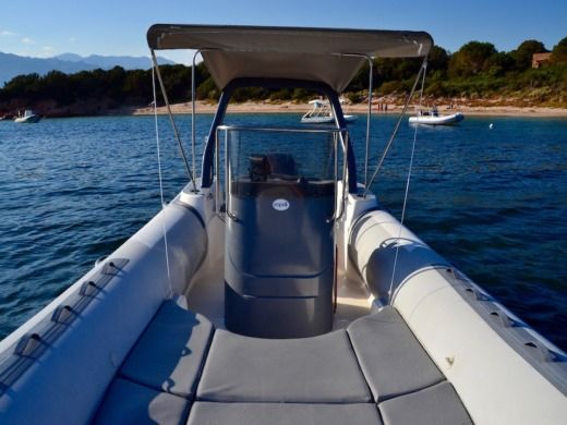 RIB Capelli Tempest for hire