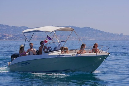 Rental Motorboat QUICKSILVER Open 600 Mandelieu-La Napoule