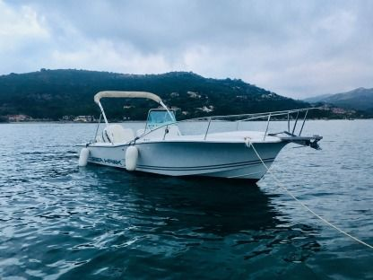 Miete Motorboot Kelt Sea Hawk 213 ( White Shark) Saint-Florent