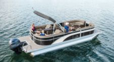 Motorboat Pontoon 26