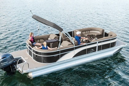 Hire Motorboat Pontoon 26 Sunny Isles Beach