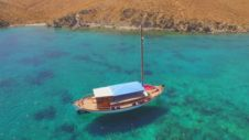Sailboat Greek Traditional Sailing Boat Anima for rental