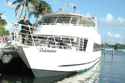 Charter Motorboat Party Yacht 150 Miami