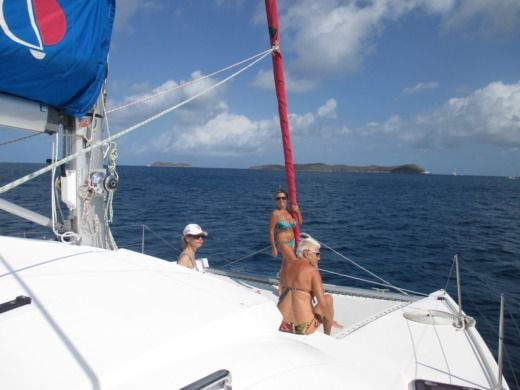 Charter catamaran in Sint Maarten peer-to-peer