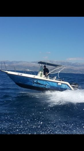 Motorboat Elan Fisherman 20Cc peer-to-peer
