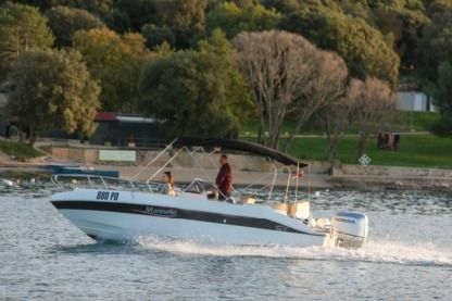 Charter Motorboat Marinello 22 Eden Open Vrsar