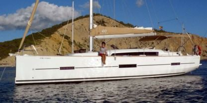 Charter Sailboat Dufour 410 Grand Large Castelldefels