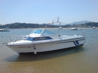 Charter Motorboat Swift Craft Sabinal Menton