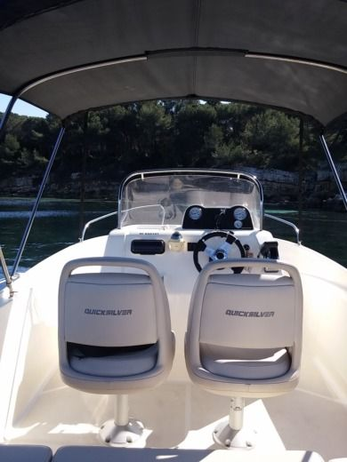 Quicksilver ACTIV 535 in Juan les Pins, Antibes peer-to-peer