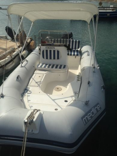 Gommone Zodiac Medline tra privati