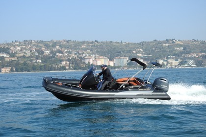 Rental RIB Grand 650 Black Makarska