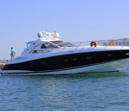 Miete Motorboot Sunseeker Sunseeker 53 Quarteira