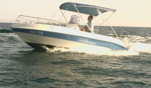 Motorboat Tancredi Nautica Blue Max 5.70 peer-to-peer