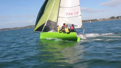 Charter Sailboat Phileas Open 5.70 Larmor-Baden
