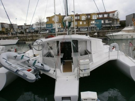 Sailboat Trimaran Neel 45