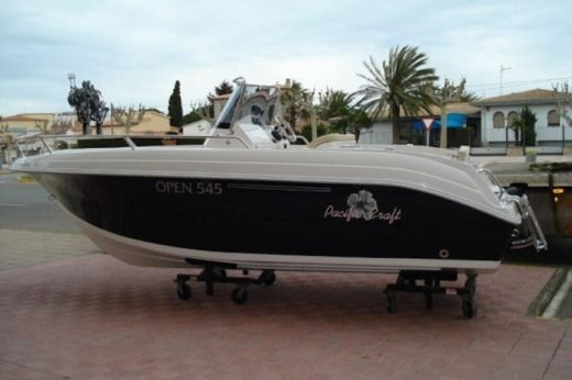 Lancha Pacific Craft 545 Open en alquiler