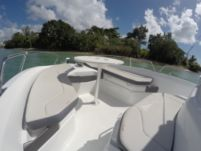 Charter motorboat in Le Gosier