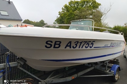 Rental Motorboat Power marine Quicksilver Binic
