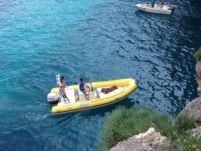 Italboats Predator in Capri for hire