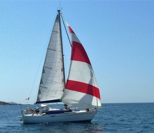 Sailboat Mallard 9 M for hire