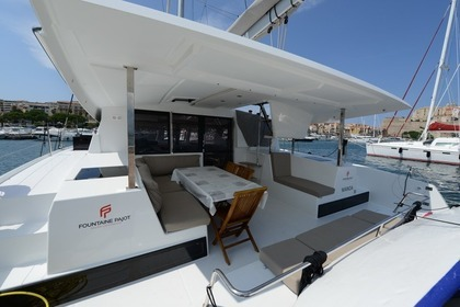 Location Catamaran FOUNTAINE PAJOT LUCIA 40 Calvi