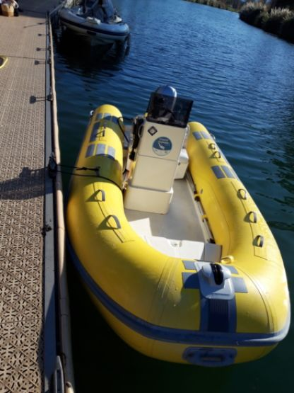 Rental RIB Caribe 430 Cannes