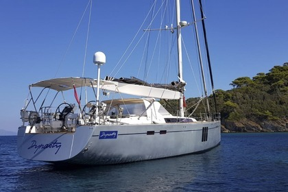 Rental Sailboat HANSE 630 E Cogolin