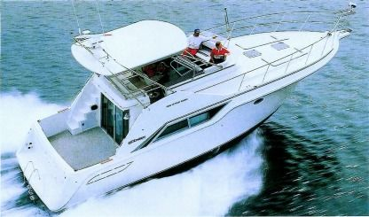 Miete Motorboot Cruisers Inc 4280 Express Bridge Viareggio