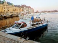 Rental motorboat in Stockholm