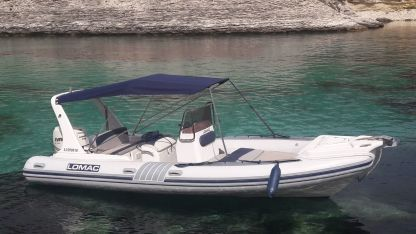 Rental RIB Lomac 675 In Bonifacio