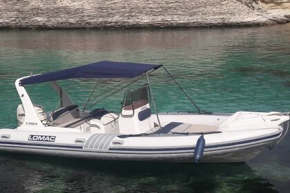 Location Semi-rigide LOMAC NAUTICA 675 in Bonifacio