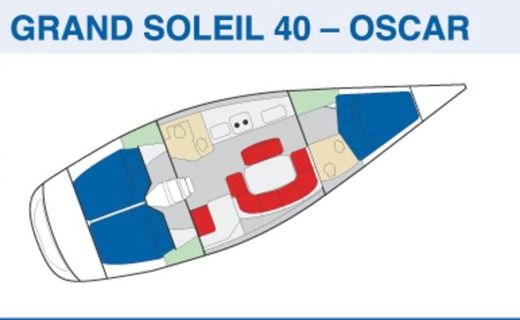 Grand Soleil 40 in Tropea VV peer-to-peer