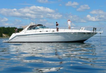 Charter Motorboat Searay 500 Oakland